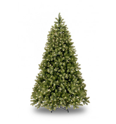 KERSTBOOM POLY BAYBERRY HINGED VERLICHT 183cm - 1005 TIPS - 450 LEDLIGHTS