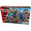 AUTO SHOWROOM MET 1 DIE CAST AUTO GRATISPARKEERGARAGE