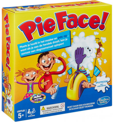 Pie Face - Slagroom Snoet