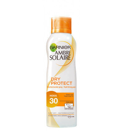 Ambre Solaire ZonneSpray Dry Protect 200ML - SPF 30