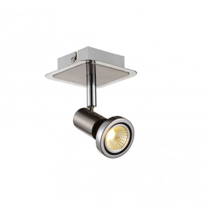 Fantasia Xzibit Plafondspot Satin Chroom 1x 5W GU10 Led lamp