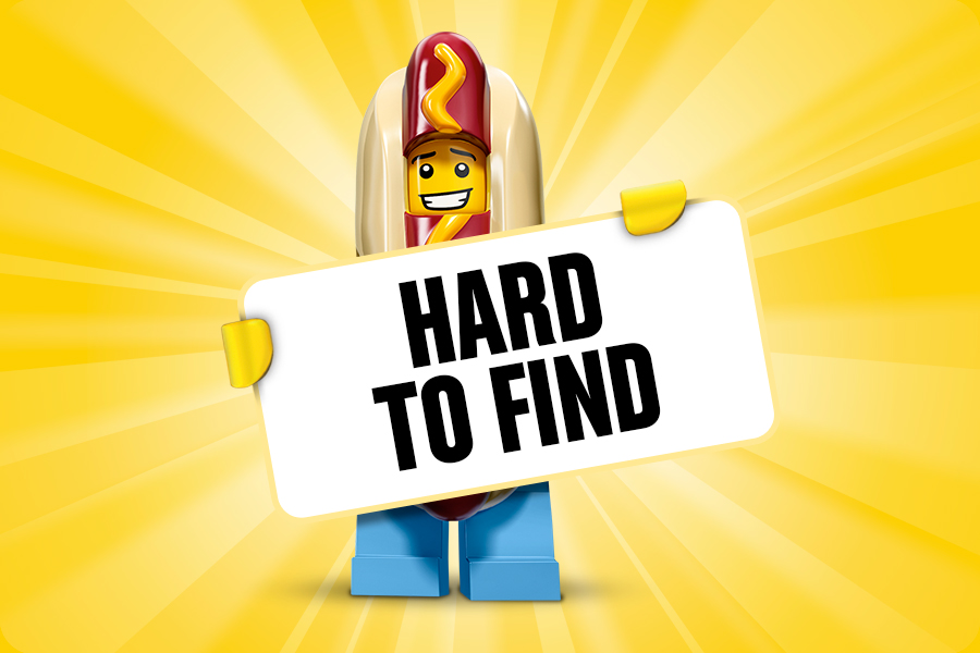 Hard to Find LEGO producten